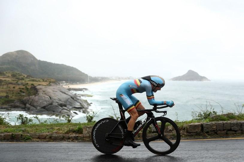 Tim Wellens podczas igrzysk w Rio /AFP