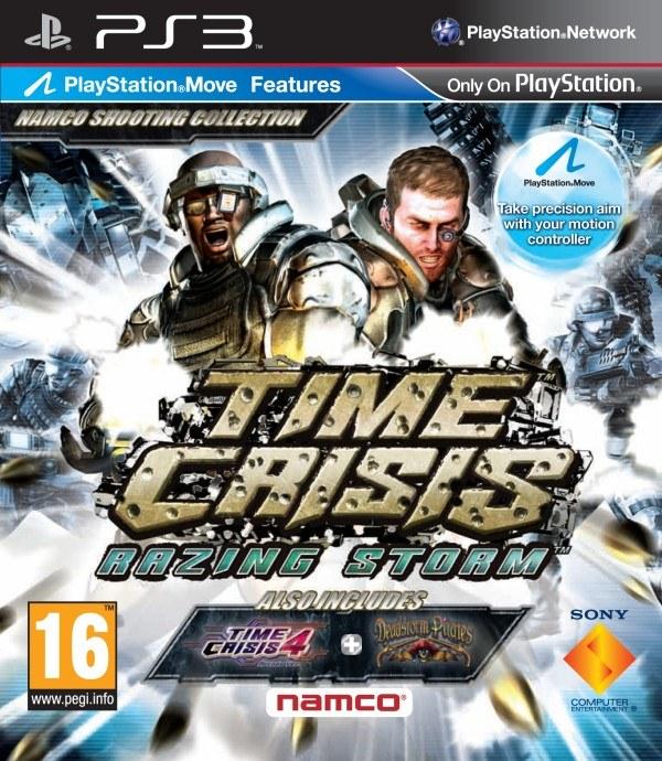 Time Crisis: Razing Storm - polska okładka gry /Informacja prasowa