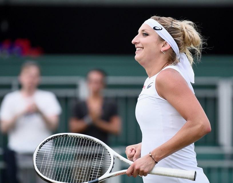 Timea Bacsinszky dotarła do półfinału wielkoszlemowego Rolanda Garrosa. Na Wimbledonie chce powtórzyć ten sukces /PAP/EPA