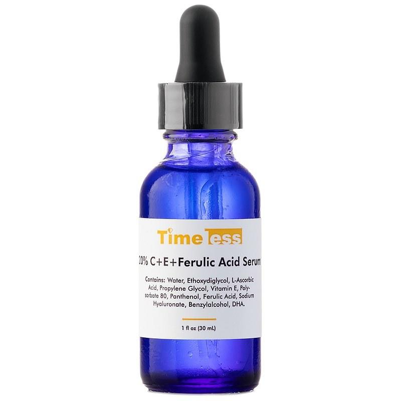 Timeless - Skin Care - 20% Vitamin C + E Ferulic Acid Serum – Serum z witaminą C i E oraz kwasem ferulowym /INTERIA.PL/materiały prasowe