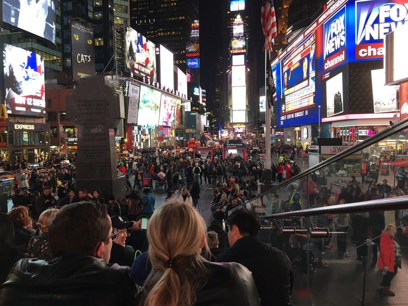 Times Square w wyborczy wieczór /Michał Michalak /INTERIA.PL