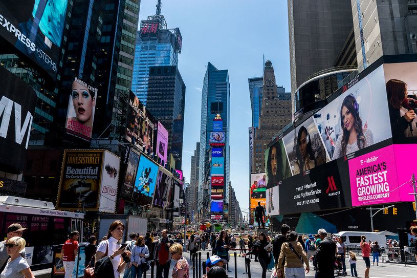 Times Square /123RF/PICSEL