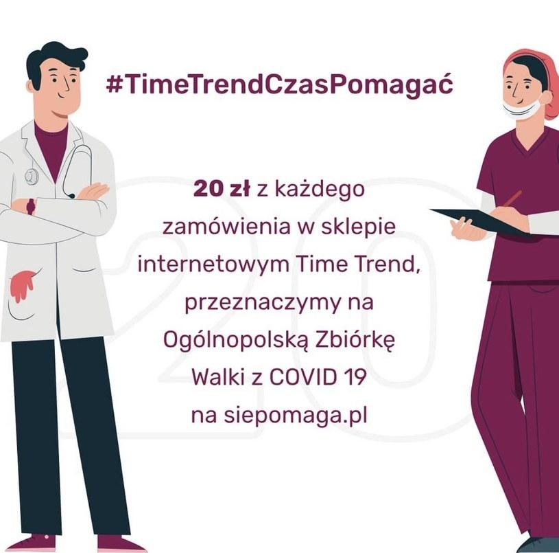 #TimeTrendCzasPomagać /INTERIA.PL/materiały prasowe