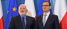 Timmermans do unijnych komisarzy: Warszawa nie zrobiła żadnych ustępstw