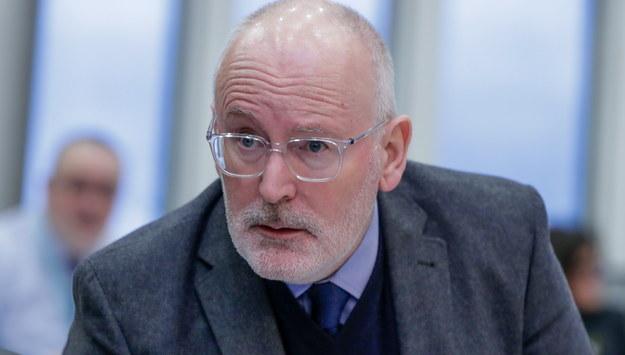Timmermans: KE nie wycofa skargi przeciwko Polsce ws. Sądu Najwyższego
