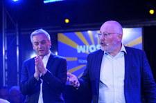 Timmermans w Warszawie: Walczyłem z polskim rządem