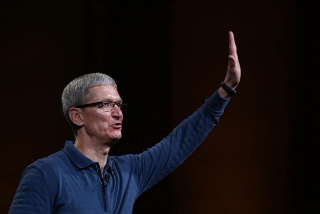 Timothy D. Cook, prezes Apple'a /AFP