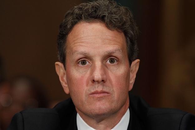 Timothy Geithner, minister finansów USA /AFP