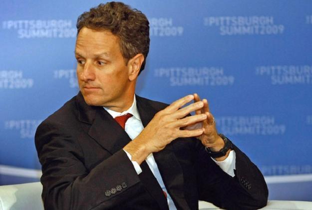 Timothy Geitner, minister finansów USA /AFP
