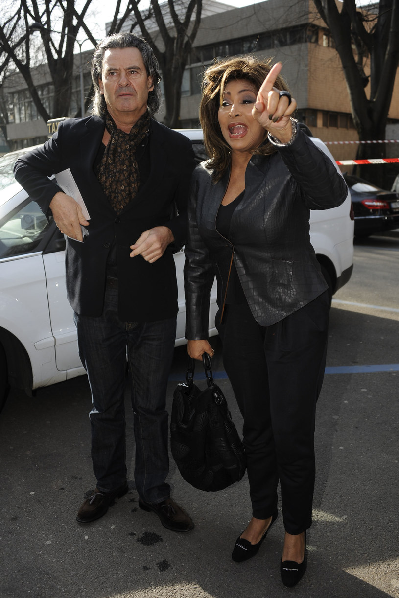 Tina Turner, Erwin Bach /Splashnews