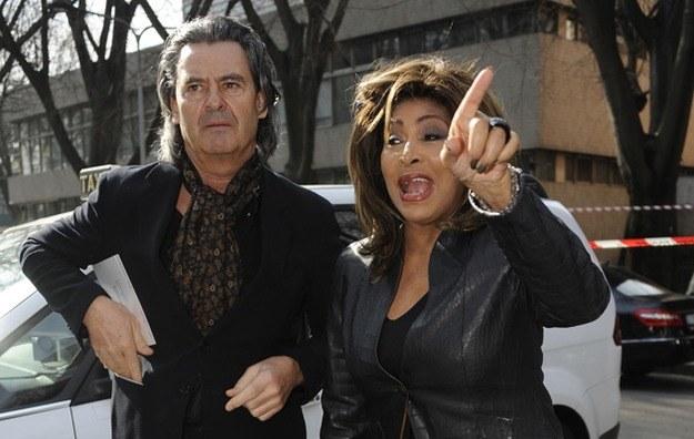 Tina Turner i Erwin Bach /Splashnews