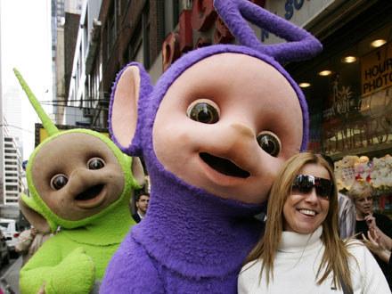 Tinky Winky lubi po prostu damskie torebki /AFP