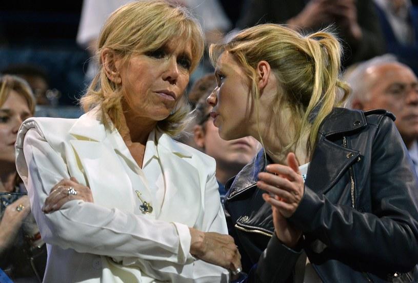 Tiphaine Auzière. To młodsza córka Brigitte Macron /Getty Images