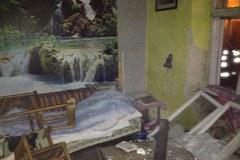 Tir wjechał w dom w miejscowości Zerwana