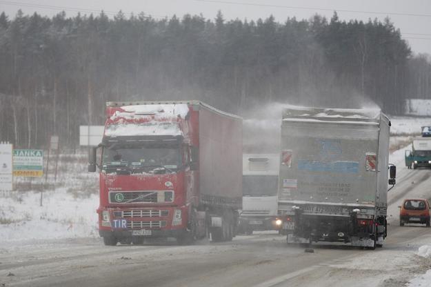 TIR-y mogą dzisiaj jeździć bez żadnych konsekwencji, fot. P. Mecik /Agencja SE/East News