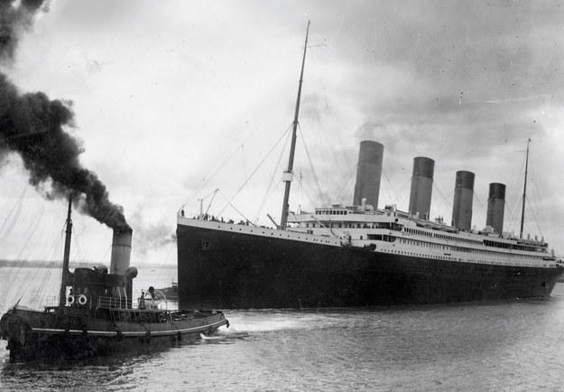 Titanic wypływa w rejs... /AFP