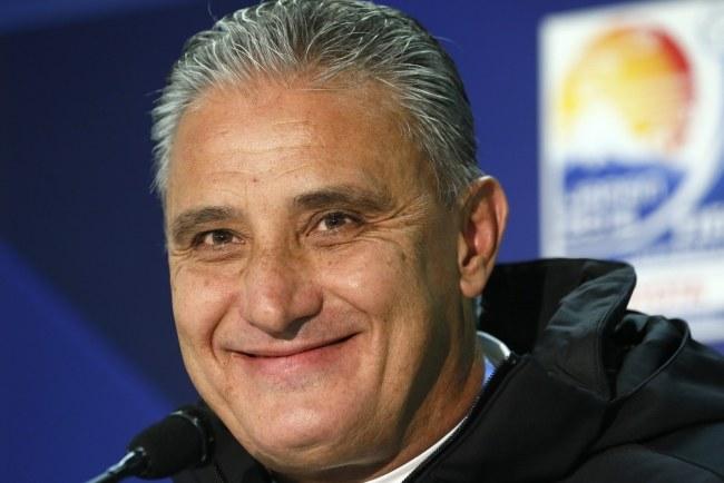 Tite - trener Corinthians /KIMIMASA MAYAMA /PAP/EPA