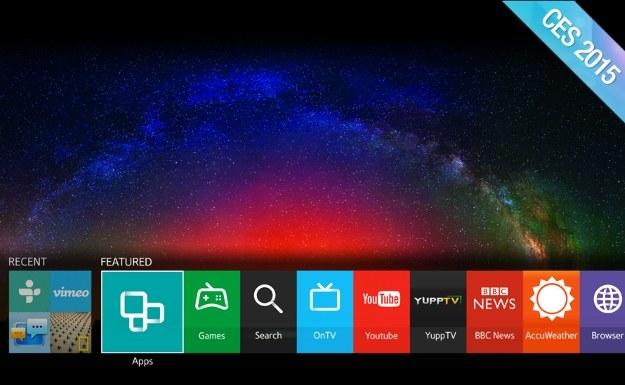 Tizen jako nowy smart TV Samsunga /materiały prasowe
