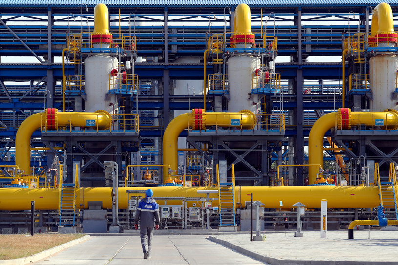 Tłocznia początkowa Nord Stream 2 /Peter Kovalev/TASS /Agencja FORUM