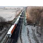 Tłok i wielokilometrowe kolejki na przejściach granicznych z Ukrainą. Padł rekord