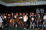 Tłum szwedzkich rockmanów nagrywających hołd dla ofiar tsunami /oficjalna strona wykonawcy