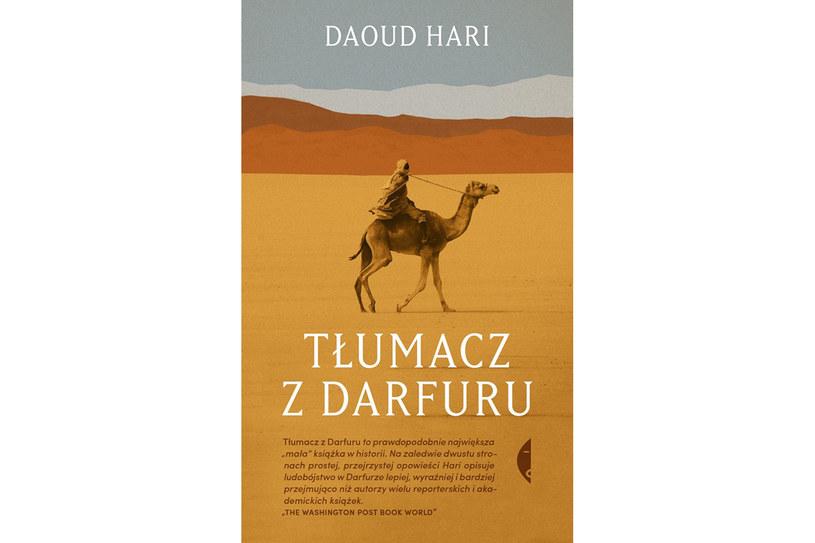 """""""Tłumacz z Darfuru"""", Daoud Hari. Wydawnictwo Czarn /materiały prasowe"""