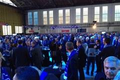 Tłumy gości na prezentacji Dreamlinera LOT-u