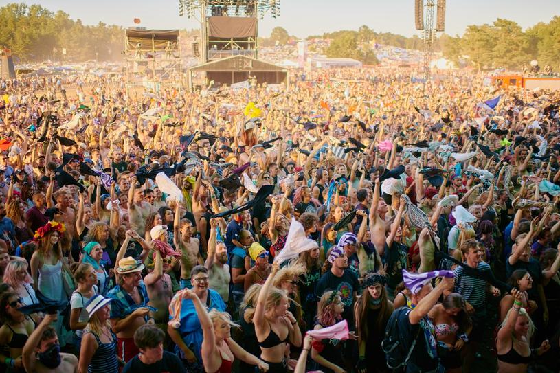 Tłumy na dawnym Przystanku Woodstock /Szymon Aksienionek /Reporter