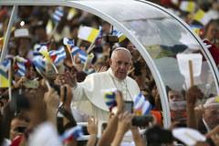 Tłumy na papieskiej mszy w Hawanie