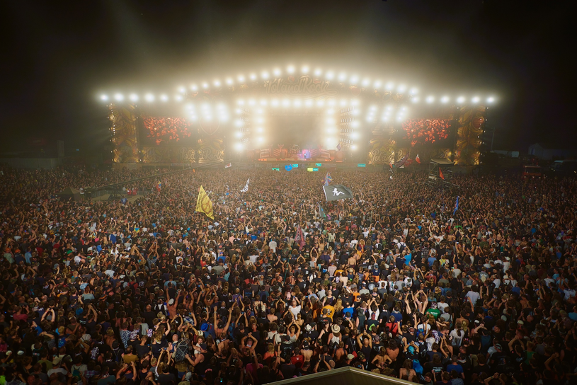 Tłumy na Pol'And'Rock Festival 2018 /Szymon Aksienionek /East News