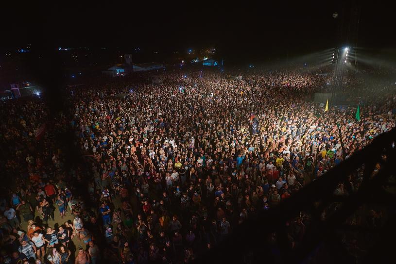 Tłumy na Pol'And'Rock Festival 2018 /Szymon Aksienionek /Reporter