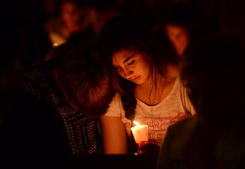 Tłumy opłakiwały ofiary tragedii /AFP