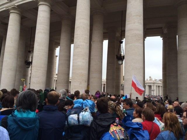 Tłumy pielgrzymów w Watykanie /Mariusz PIekarski /RMF FM