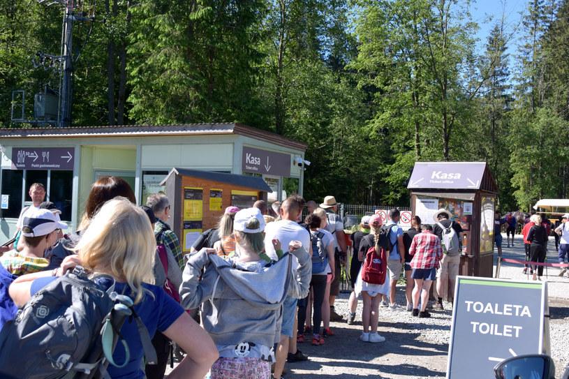 Tłumy w Tatrach; zdj. ilustracyjne /Albin Marciniak /East News