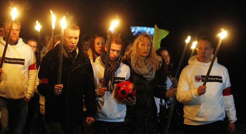 Tłumy zjawiły się na pogrzebie Richarda Nieuwenhuizena /AFP