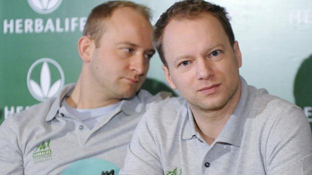 To będzie największe sporotwe wyzwaniu w życiu Borysa Szyca i Macieja Stuhra / fot. Mieszko Piętk /AKPA