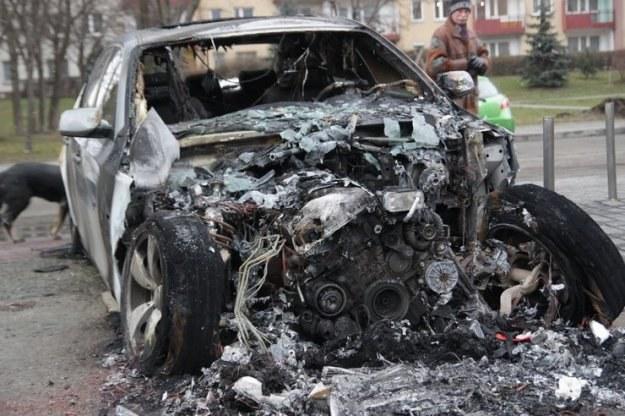To BMW spalono w Polsce /INTERIA.PL