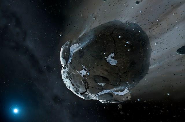 To bogata w wodę asteroida przyniosła wodę na Ziemię /fot. University of Warwick /materiały prasowe