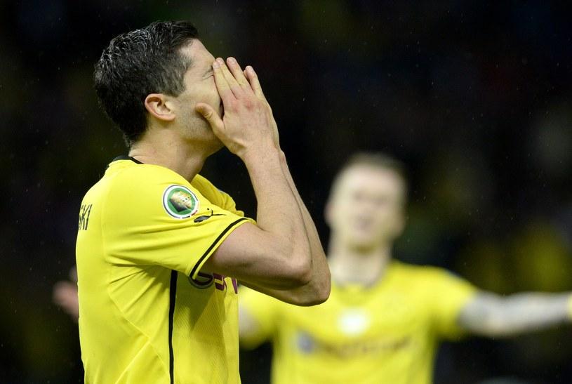 To był ostatni mecz Roberta Lewandowskiego w barwach Borussii Dortmund /AFP