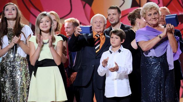 """- To był piękny koncert – krótko skomentowała galę """"emki"""" Teresa Lipowska, nie kryjąc, że ma nadzieję, iż za kilka lat cała ekipa znów spotka się, by świętować kolejny jubileusz. /Agencja W. Impact"""
