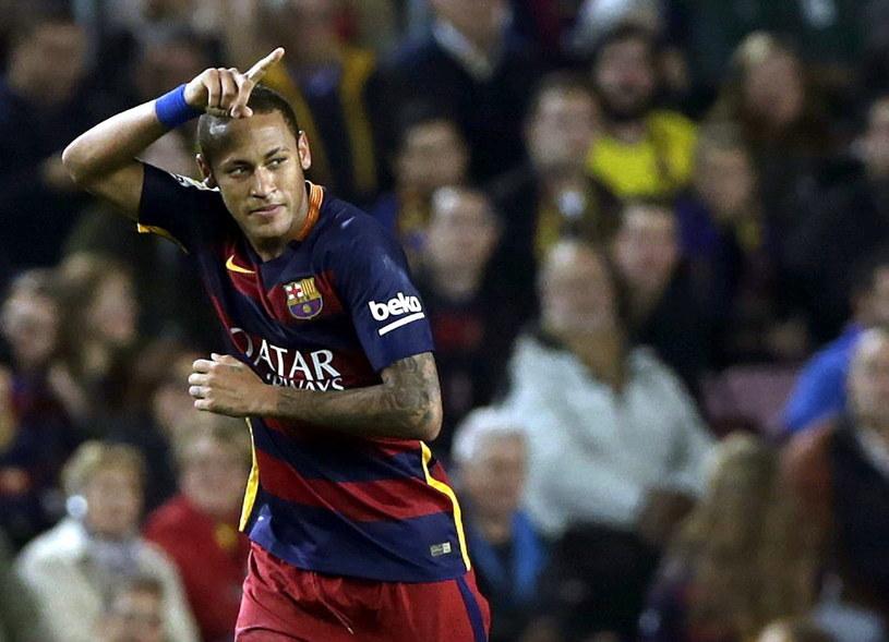 To był wieczór Neymara /AFP