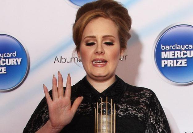 To był zdecydowanie rok Adele fot. Dave Hogan /Getty Images/Flash Press Media
