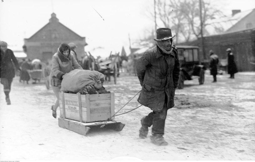 To była najcięższa zima w przedwojennej Polsce /Wikimedia Commons /domena publiczna