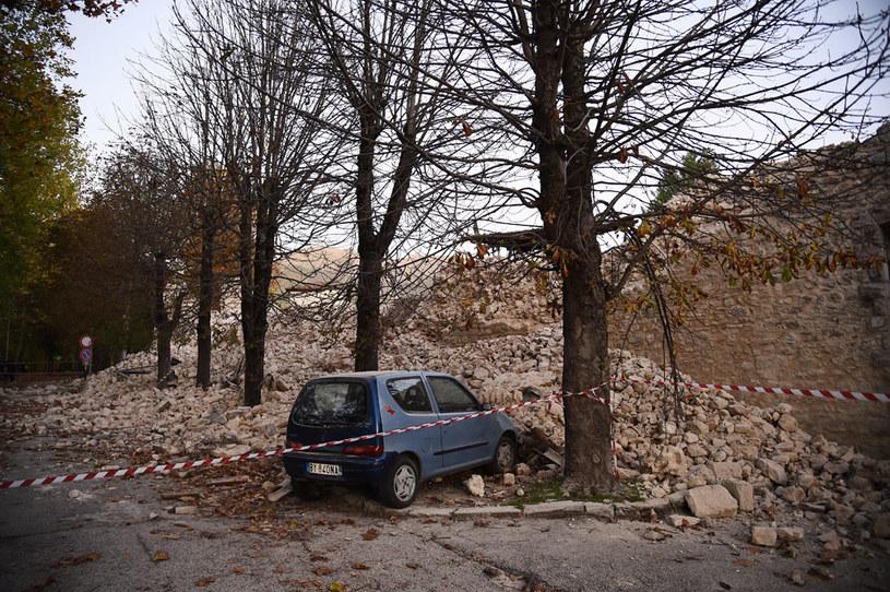 To było kolejne trzęsienie ziemi w środkowych Włoszech /AFP