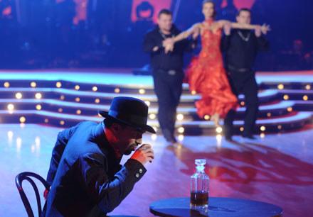 To było ostatnie tango Wojtka Medyńskiego (z alkoholem) i Izy Janachowskiej - fot. A.Szilagyi /MWMedia
