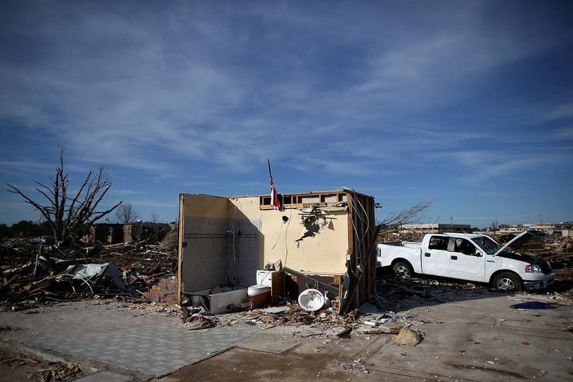 To było rekorodwe tornado /AFP