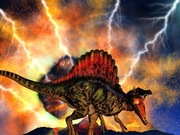 To ciemna materia spowodowała wyginięcie dinozaurów? /123RF/PICSEL