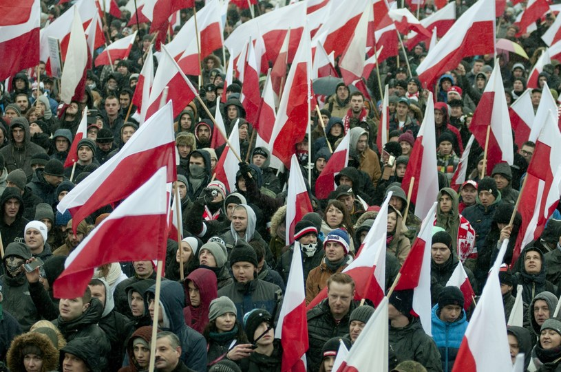 """""""To, co dzieje się w Polsce podczas marszów niepodległości, to tylko igrzyska"""" /Justyna Rojek /East News"""