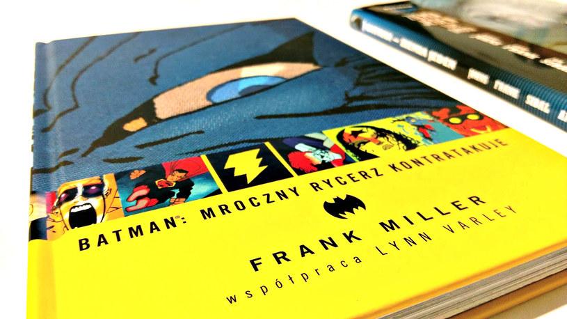To dwa zupełnie różne komiksy o Batmanie... /INTERIA.PL