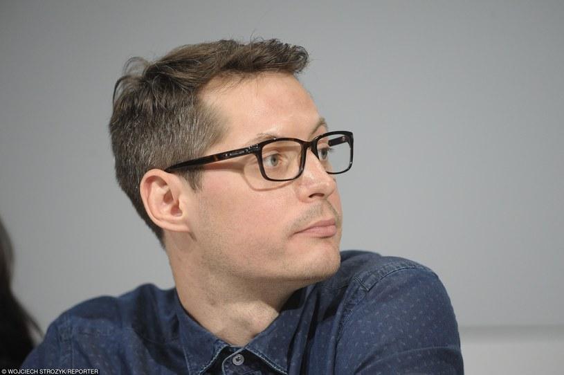"""To film o poszukiwaniu siebie - mówi jeden z reżyserów nowelowego """"Nowego Świata"""", Łukasz Ostalski /Wojciech Strozyk/REPORTER /East News"""